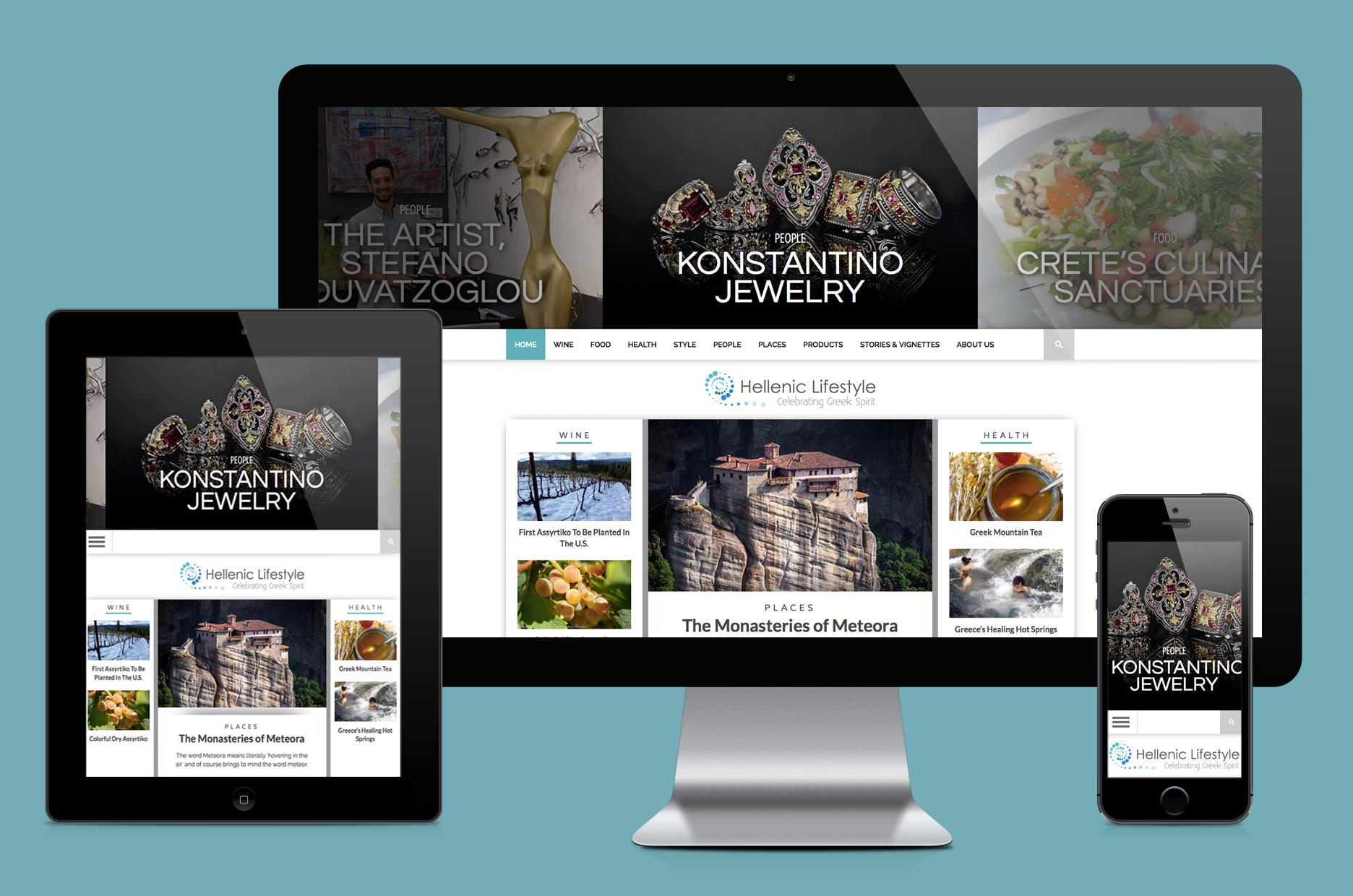Hellenic Lifestyle website