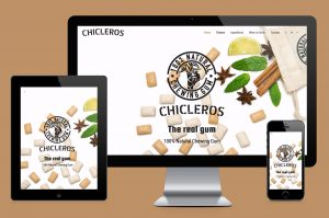Chicleros website creation