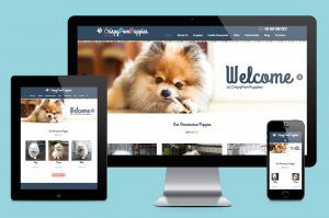 CrispyPomPuppies website creation