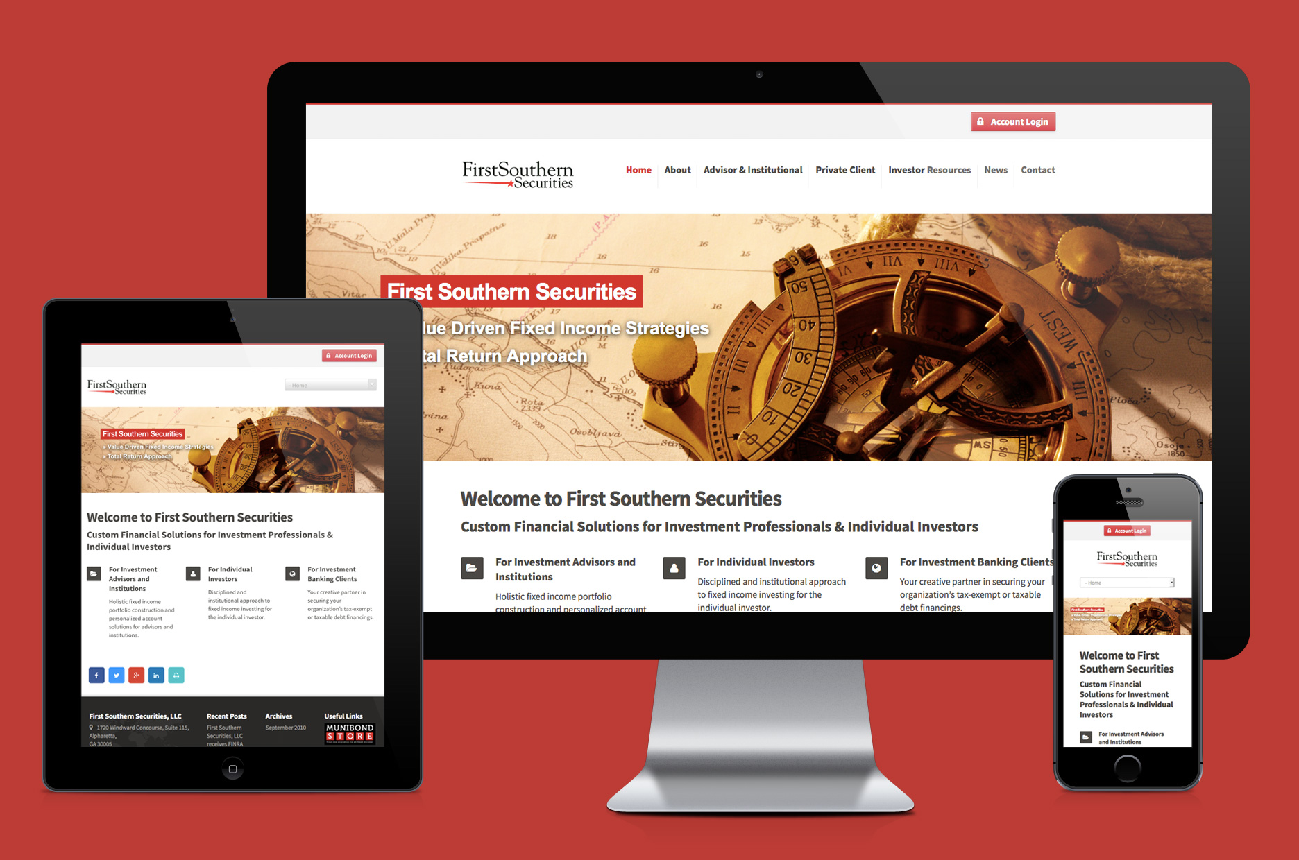 First Southern Securities website