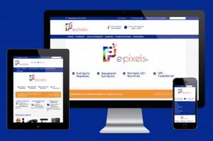κατασκευή e-shop για e-pixels