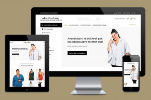 Lolas fashion eshop development