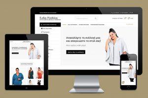 Κατασκευή eshop για το κατάστημα Lolas Fashion