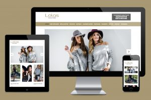 lolasfashion eshop creation